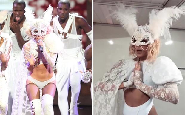 Lady Gaga; Pabllo Vittar (Foto: Getty Images/Reprodução/Instagram)