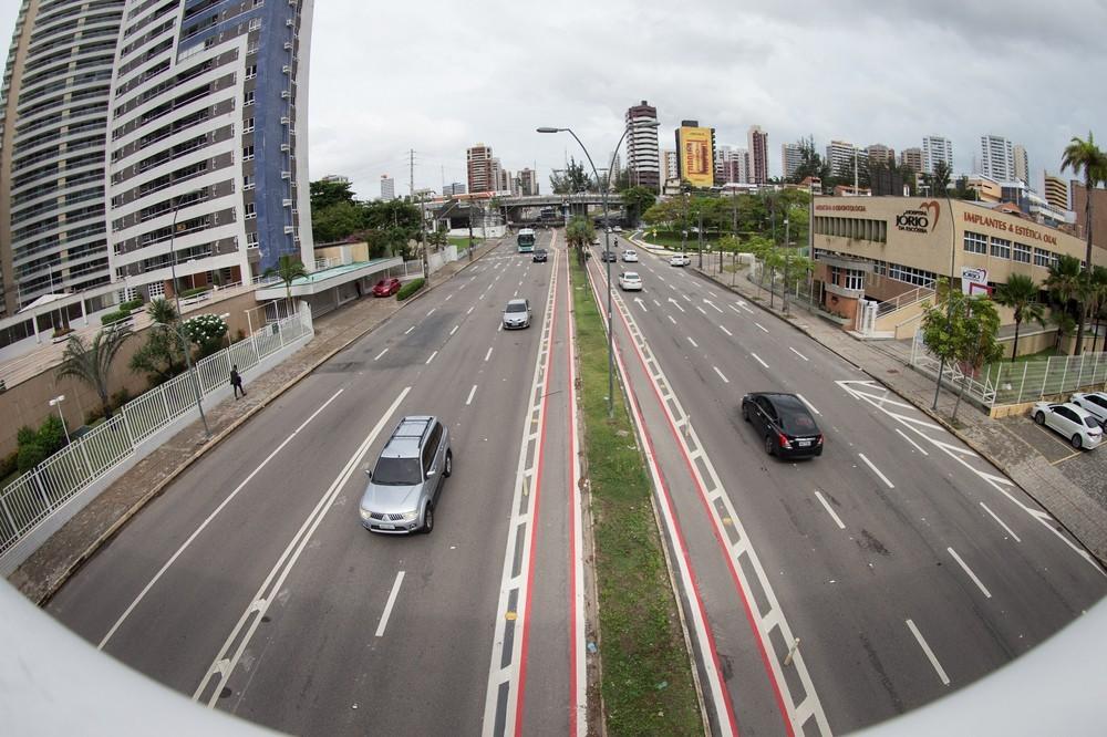 Média de acidentes de trânsito com morte em Fortaleza cai 67% nas vias que tiveram redução de velocidade