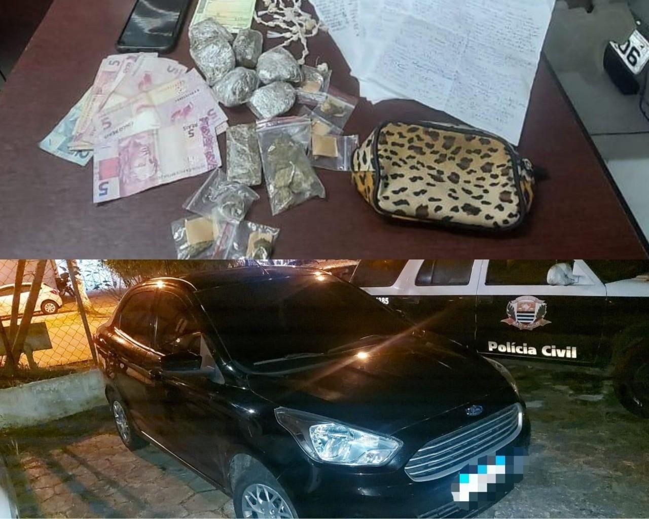 Homem é preso em flagrante por suspeita de tráfico de drogas em Mongaguá, SP