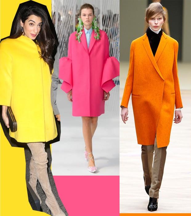 Amal Clooney com casaco amarelo -- aposte na trend! (Foto: Divulgação)