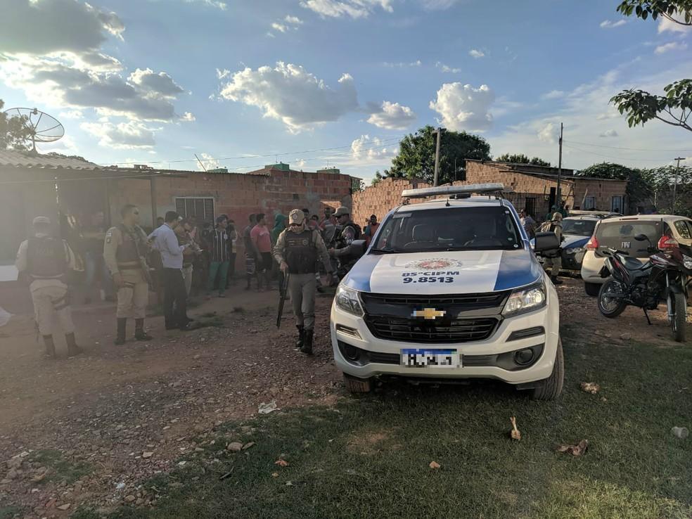 Mulher é morta a tiros por homem encapuzado no oeste da Bahia — Foto: Divulgação/Blog do Braga
