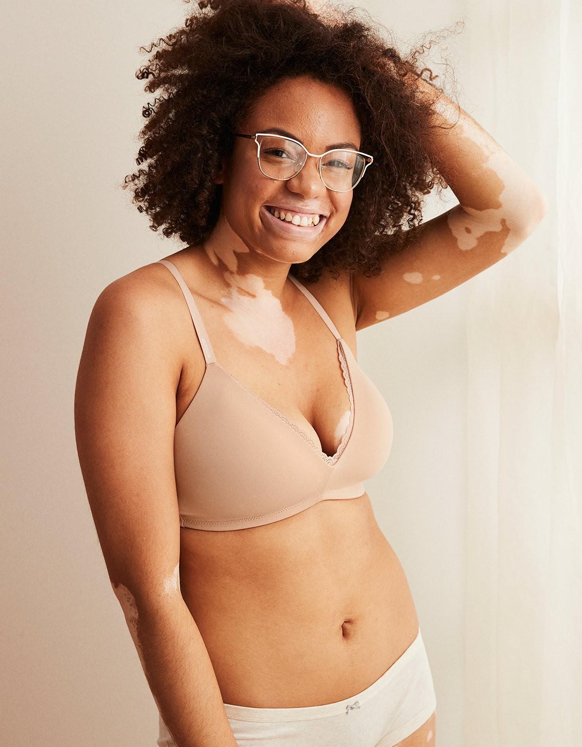 Marca de lingerie passa a usar modelo com condições e deficiências (Foto: Divulgação)