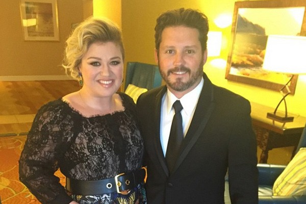 Kelly Clarkson e Brandon Blackstock (Foto: Instagram)