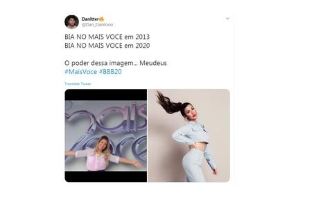 Boca Rosa posou no mural do  Reprodução/Instagram