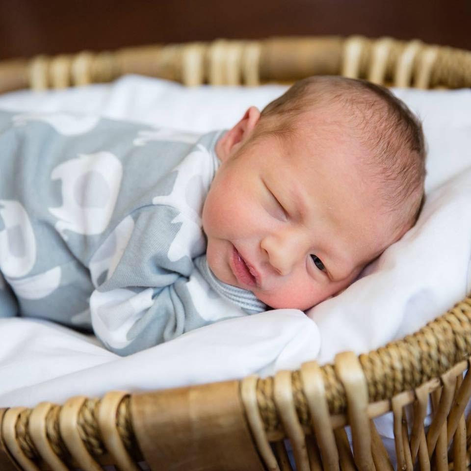 Recém-nascido, filho de Bo Smith (Foto: Reprodução Facebook)