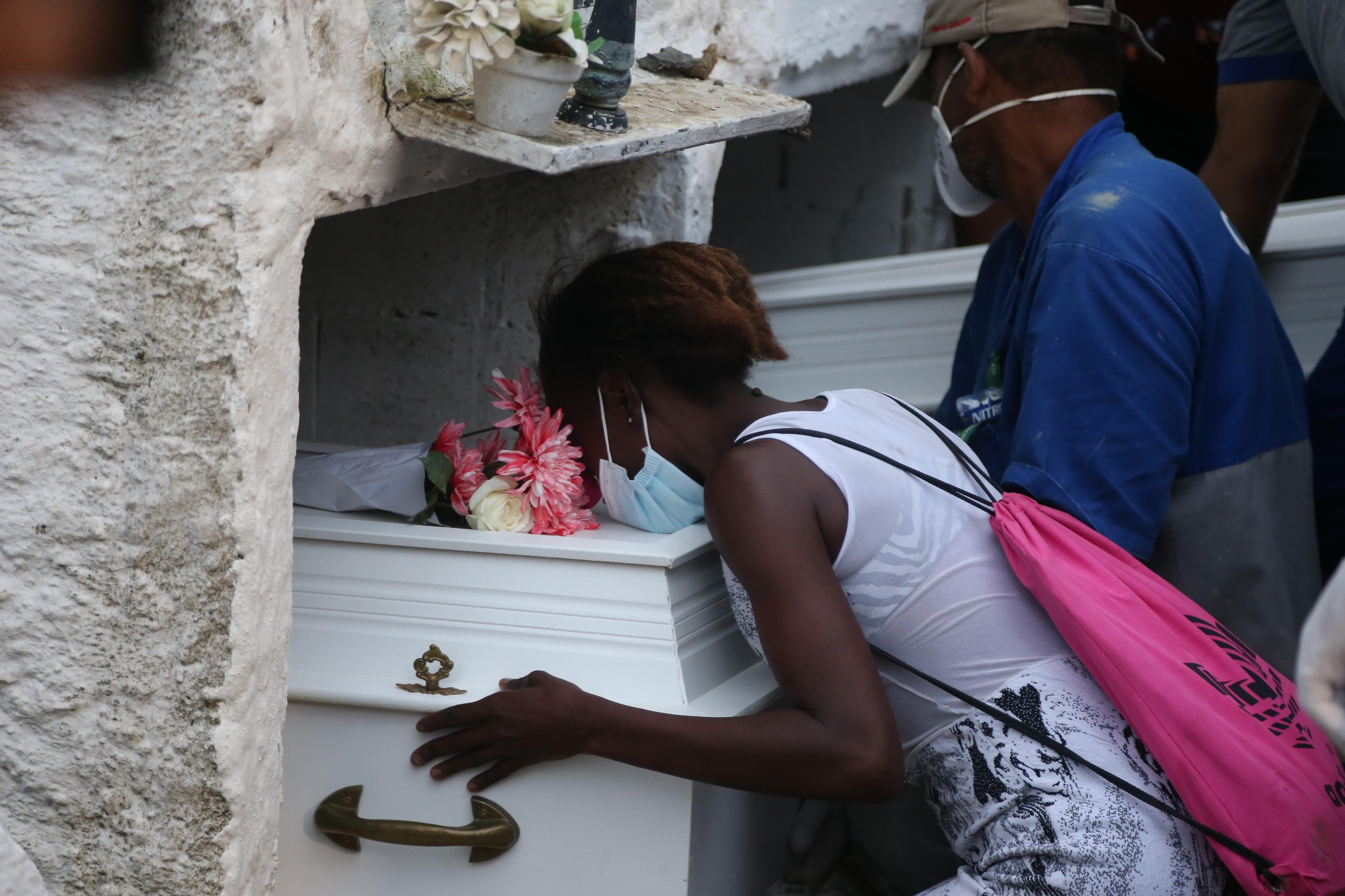 A pequena Emilly Victoria foi uma das vítimas