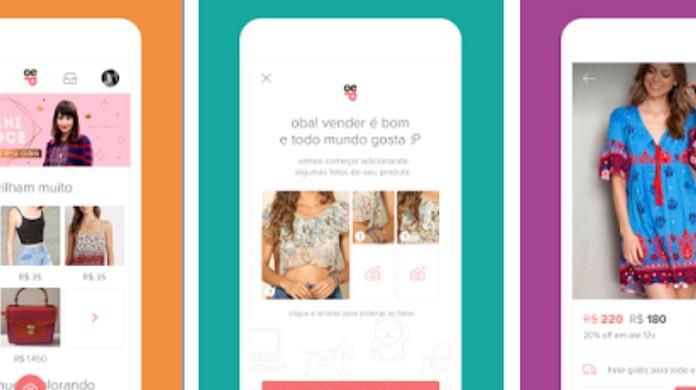 Como criar uma lojinha e anunciar grátis no Enjoei pelo celular ... e9df6e69503
