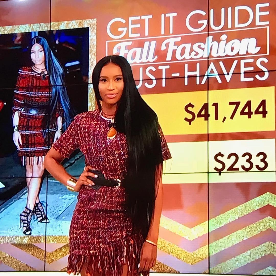Ashlea Sherman Wyzard é sósia de Nicki Minaj nos Estados Unidos (Foto:  )