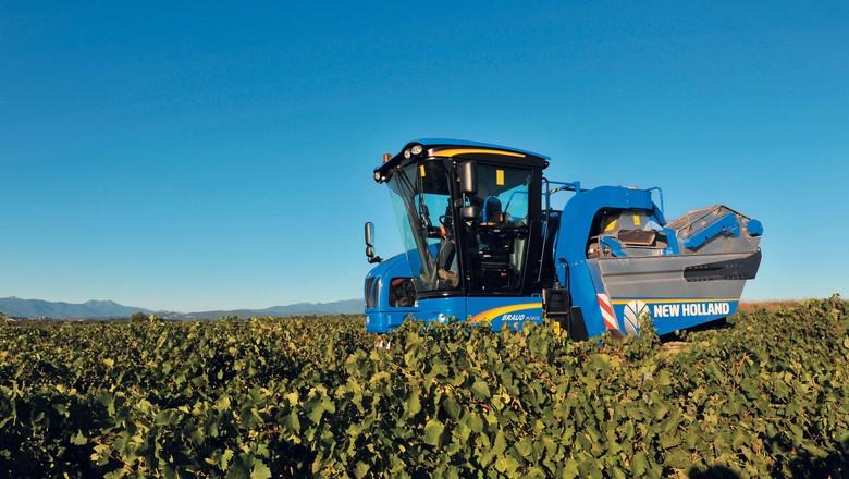 agricultura_maquinas_colheitadeira_frutas_new_holland (Foto: Divulgação/New Holland)