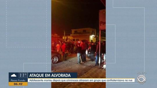 Adolescente é morto e outras cinco pessoas ficam feridas em tiroteio em Alvorada