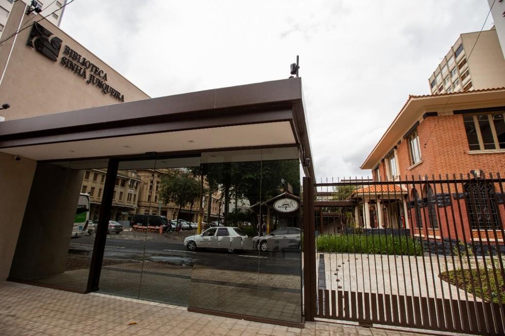 Biblioteca Sinhá Junqueira, em Ribeirão Preto (SP) — Foto: Weber Sian/ACidadeOn