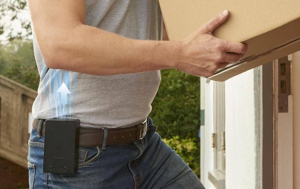 Modelo tem tamanho que lembra um Walkman — Foto: Divulgação/Cool Human