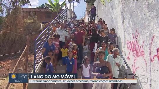 MG Móvel comemora 1 ano com mais de 30 cidades visitadas