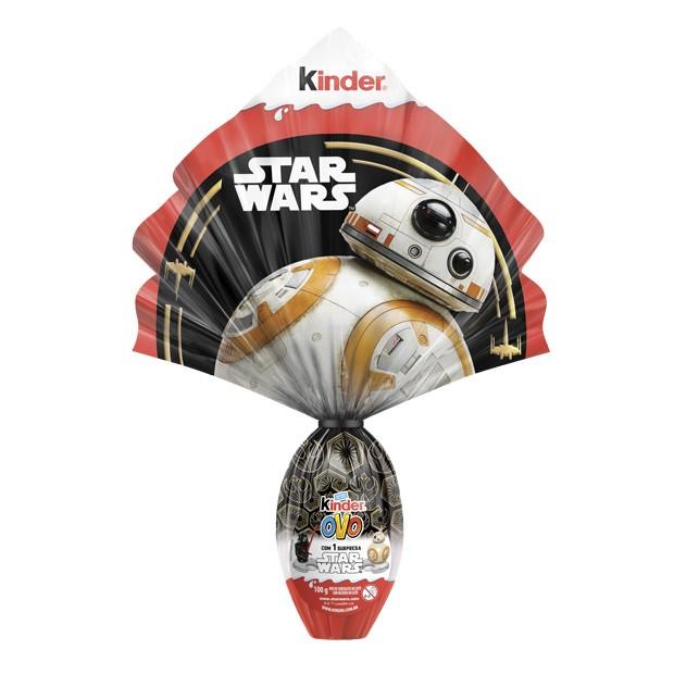 Ovo de páscoa Star Wars da Kinder Bueno (Foto: Divulgação)