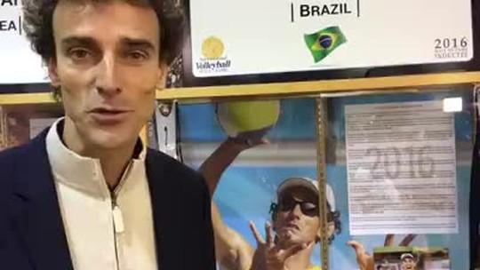 """Emanuel entra para Hall da Fama do vôlei: """"Agora não me falta mais nada"""""""