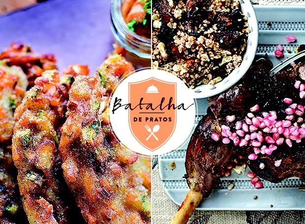 Batalha de pratos: Portugal x Marrocos (Foto: Casa e Jardim)