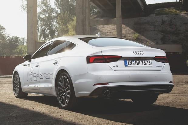 Audi A5 g-tron 2.0 GNV (Foto: Fabio Aro/Autoesporte)