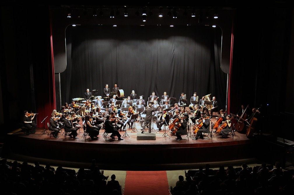 Orquestra Sinfônica de Limeira — Foto: Eduardo Zanzirolamo