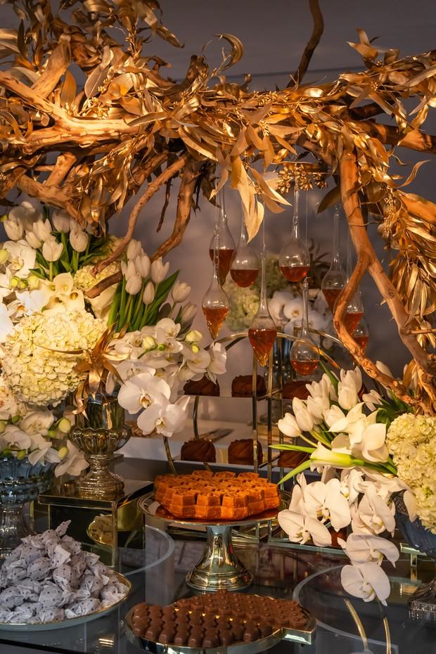 Mesa de doces do Staphan Behar (Foto: Divulgação)