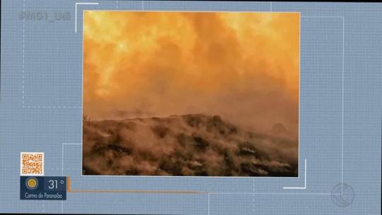 Incêndio na região do Trevão atinge áreas rurais de Ituiutaba e Prata