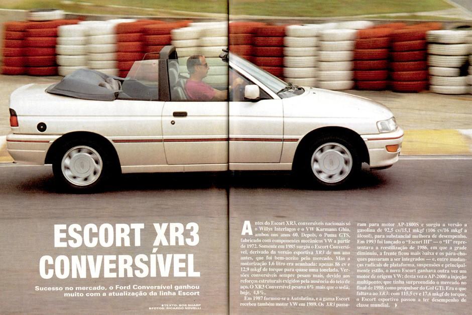 Ford Escort XR3 (Foto: Arquivo/Autoesporte)