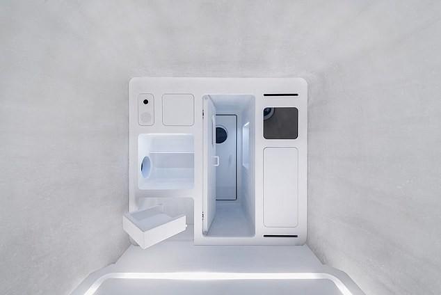 A casa tem estruturas minimalistas e é extremamente compacta para facilitar o transporte (Foto: Reprodução WU Qingshan)