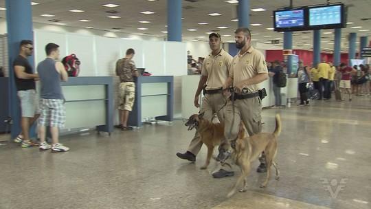PF flagra 16 pessoas tentando entrar com drogas em cruzeiros em Santos