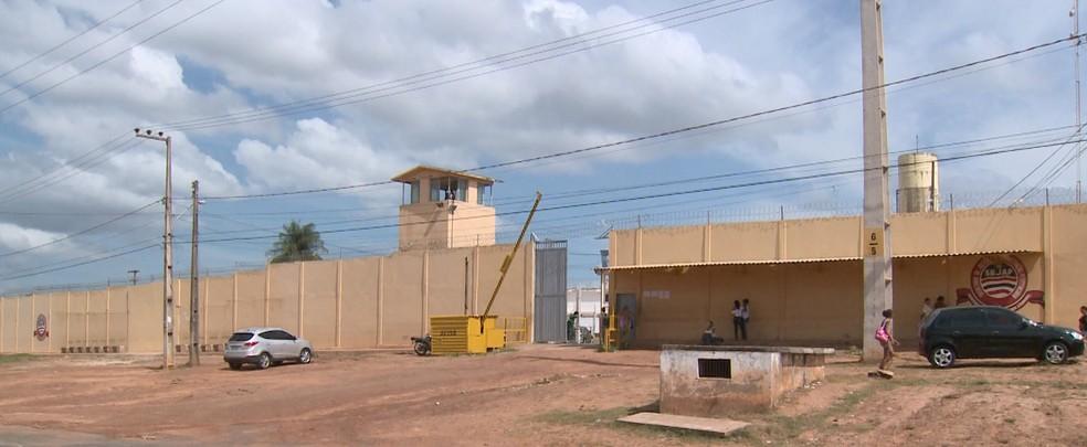 Penitenciária de Pedrinhas, em São Luís — Foto: Reprodução/TV Mirante