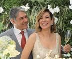 O jornalista William Bonner e a fisioterapeuta Natasha Dantas se casaram neste sábado | Arquivo pessoal
