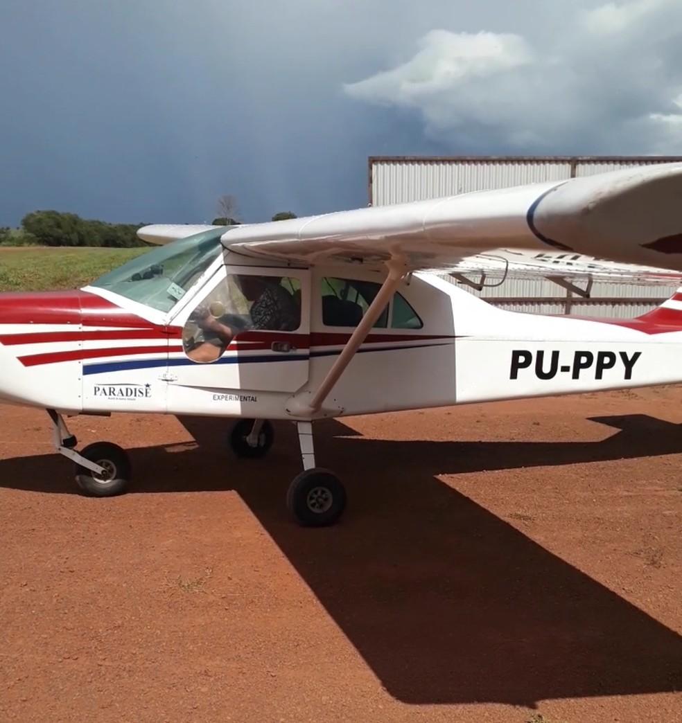 Avião de pequeno porte sumiu no dia 28 de abril — Foto: Reprodução/Arquivo pessoal