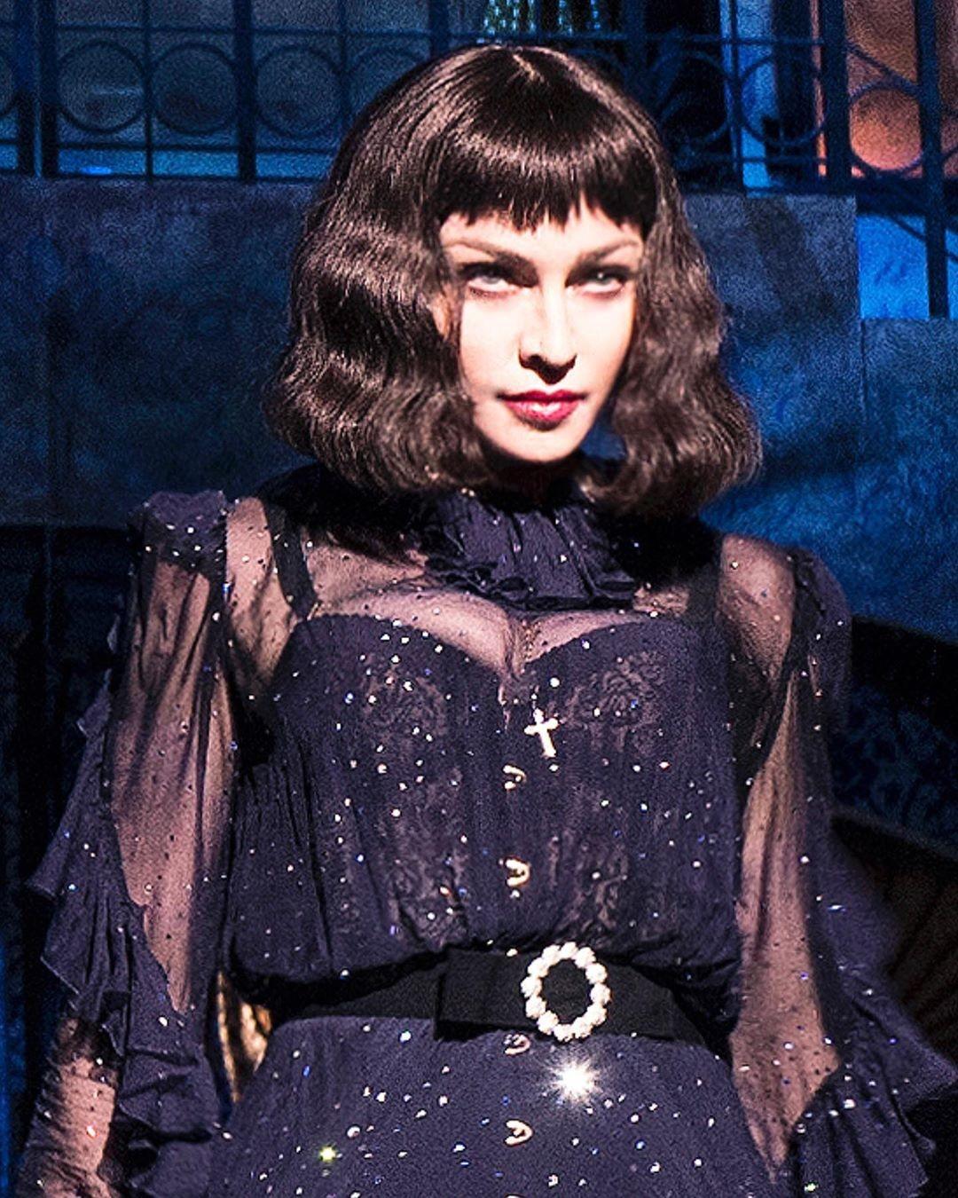 Madonna estreia turnê e compartilha imagens após adiar início de série de shows - Notícias - Plantão Diário