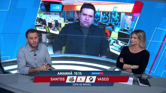 Comentaristas mostram preocupação com irregularidade do Santos