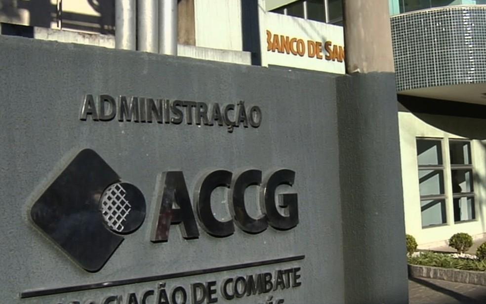Justiça condena dez pessoas por desvios de mais de R$ 1 milhão de recursos para tratamento contra o câncer em Goiás — Foto: TV Anhanguera/Reprodução