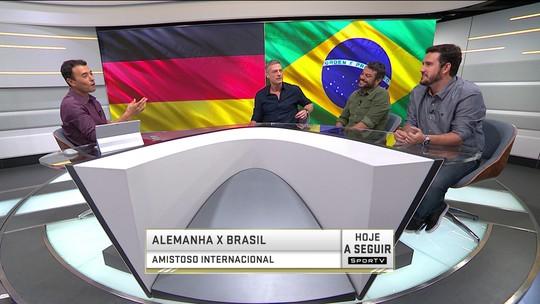 Jornalistas falam sobre a troca de jogadores entre Brasil e Alemanha
