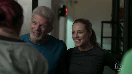 """Após 12 anos, Cyborg reencontra única algoz: """"Ajudou a me tornar campeã"""""""