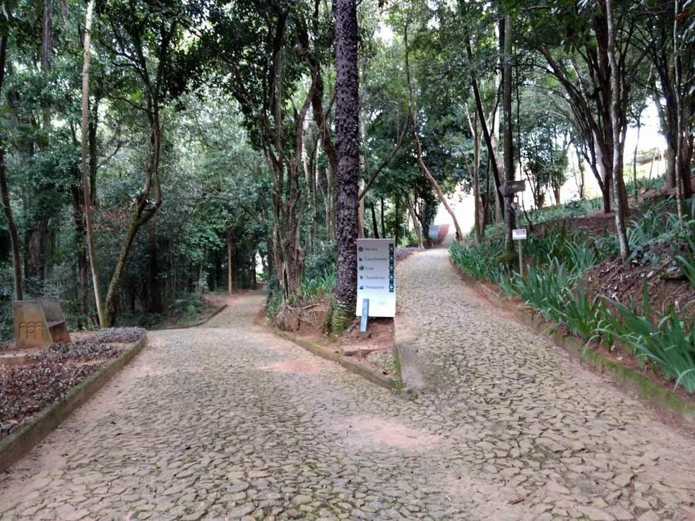 -  Parque do Museu Mariano Procópio foi reaberto nesta terça-feira  15   Foto: Roberta Oliveira/G1