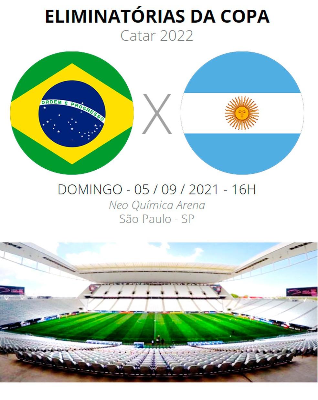 Brasil x Argentina: onde assistir, escalações, desfalques e arbitragem do  jogo das Eliminatórias | eliminatórias - américa do sul | ge