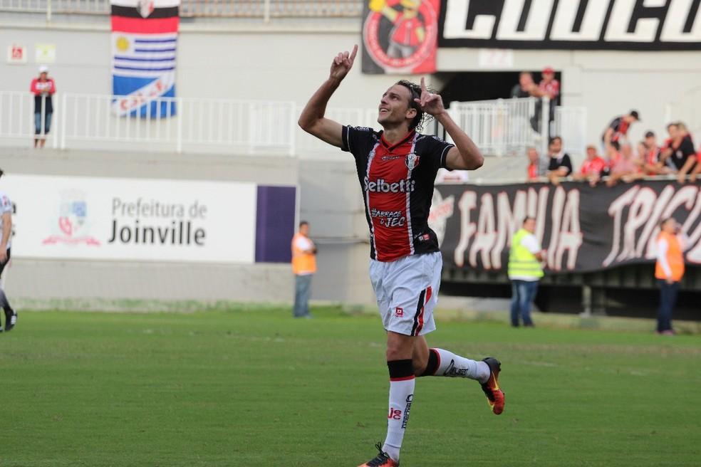 Zotti atuou pelo Joinville em 2018 — Foto: Beto Lima/JEC