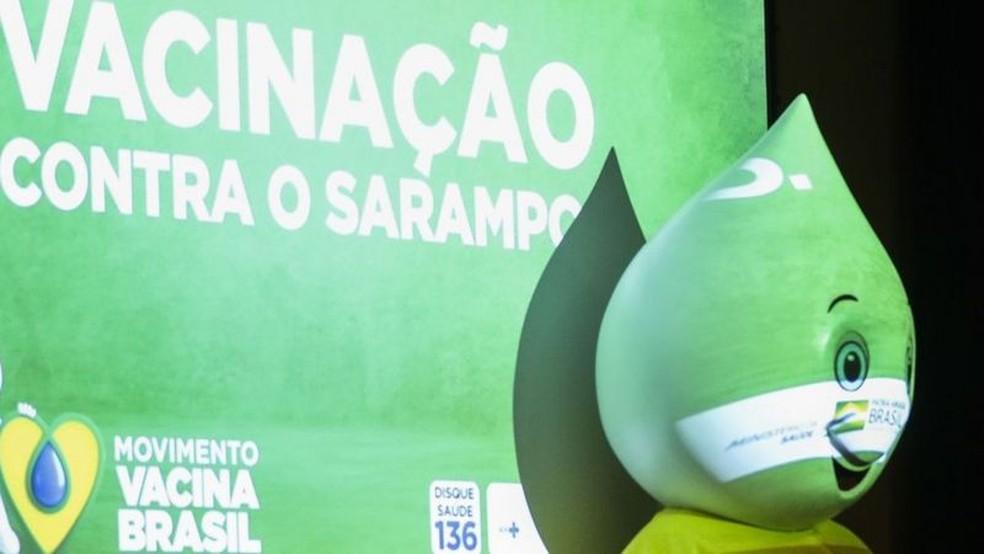 País perdeu certificado de eliminação do sarampo em 2019 — Foto: Valter Campanato/Ag. Brasil/Via BBC