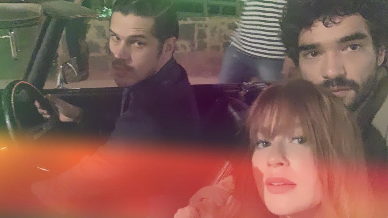 Marina Ruy Barbosa, José Loreto e Caio Blat (Foto: Reprodução Instagram)