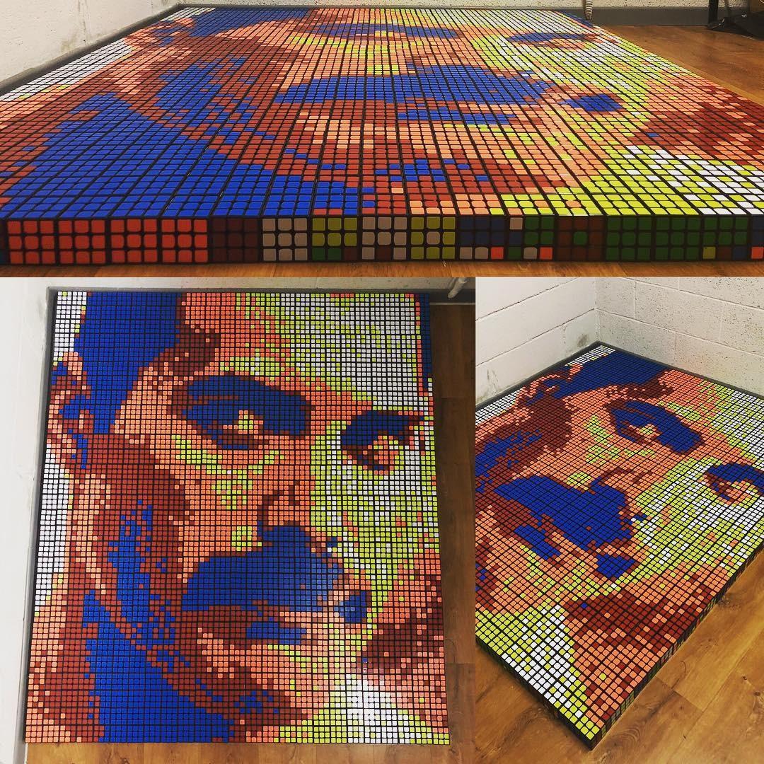 Retrato do canto Freddie Mercury (Foto: Reprodução/ Instagaram)