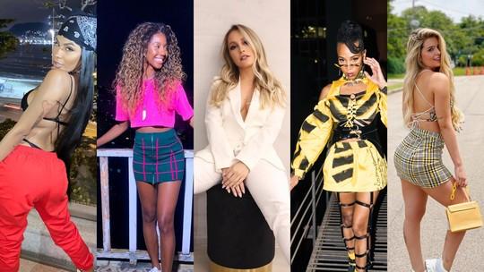 BBB21: veja o estilo de Carla Diaz, Karol Conká, Pocah, Camilla de Lucas e Viih Tube