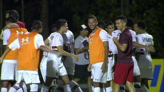 Melhores momentos: São Paulo 1 (3) x 1 (2) Corinthians pela Copa RS de Futebol Sub-20