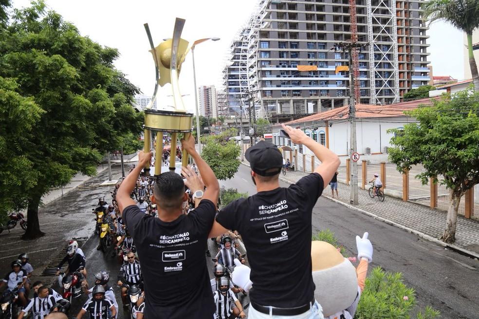Ceará, carreata (Foto: Christian Alekson/cearasc.com)
