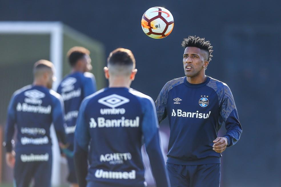 Bruno Cortez, lateral do Grêmio (Foto: Lucas Uebel / Grêmio, DVG)