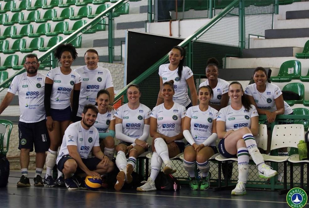 Hairton Cabral fez parte da montagem do elenco para a temporada 2018/19 — Foto: Nadine Oliver / Brasília Vôlei