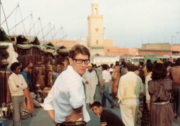 Yves Saint Laurent, Place Djemaa El Fna (Foto: Reginald Gray)