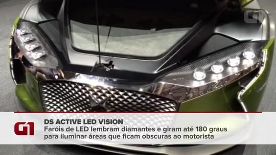 Marca de luxo da Citroën cria conceito com faróis que giram 180º