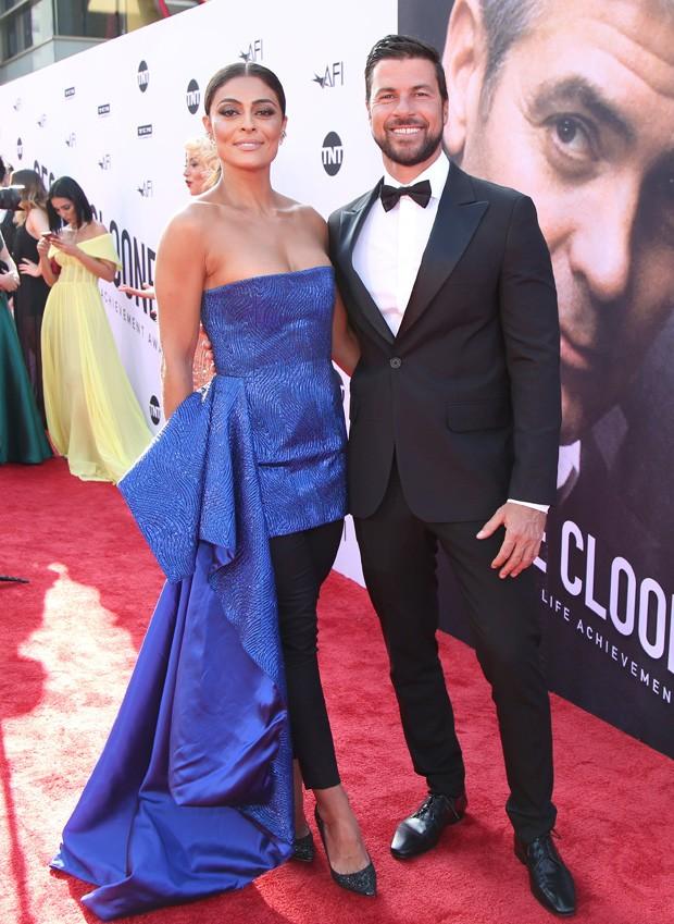 Juliana Paes e o marido, Carlos Eduardo Baptista (Foto: Randall Michelson)