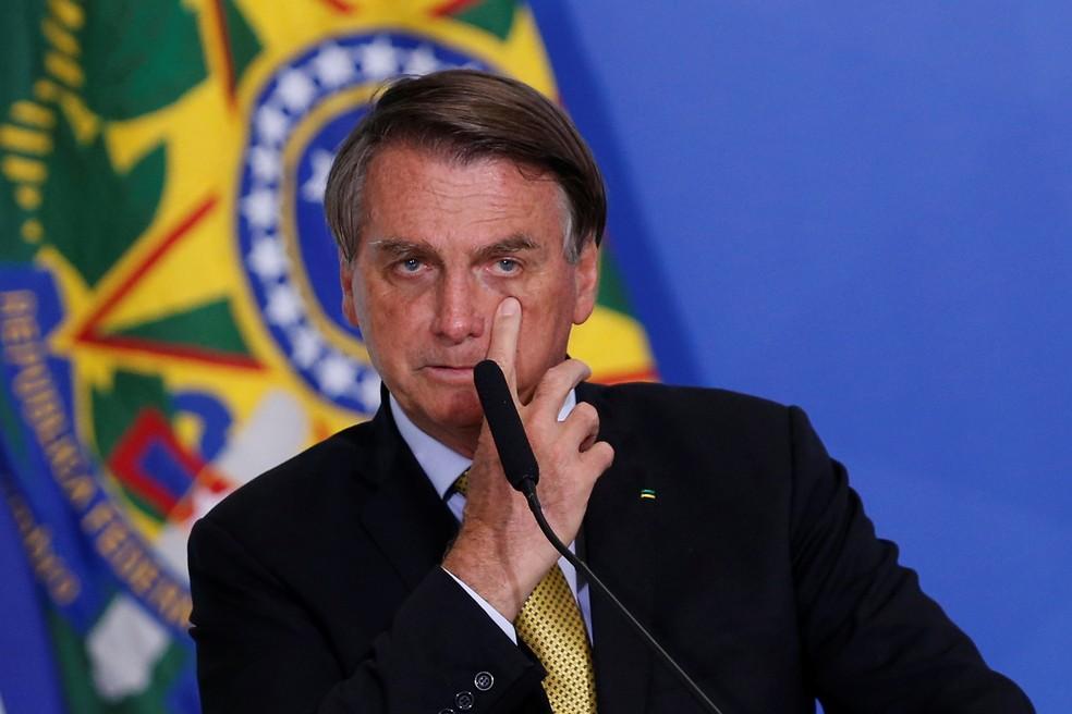 Bolsonaro — Foto: Adriano Machado/Reuters